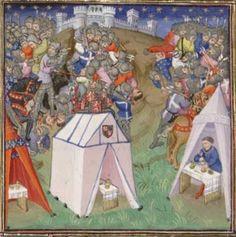 BNF Français 2675 Chroniques, Frankreich 1425-1450