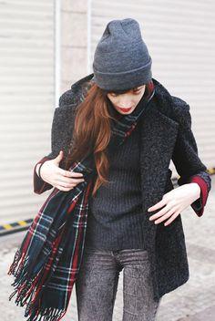 echarpe avec veste