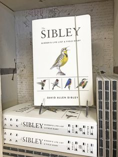 From leading ornithologist and bestselling author David Sibley comes this essential write-in field companion for all levels of birders.  #BurtsPharmacy #LocalPharmacy #CompoundingPharmacy #Birdwatching #Birdwatchers #Sibley #Birds #Books #Bookstore #Bookworm #Booklover