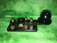 Vintage WW2 British Morse Key W.T. 8 Amp No 2 MK III ZA.16929 by RobsHobbies on Etsy