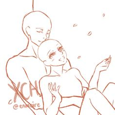 COUPLE YCH CLOSED by enmoire.deviantart.com on @DeviantArt