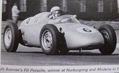 Jo Bonnier's, Porsche, Formula 2, 1960.