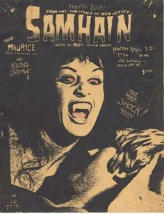 Samhain puink hardcore flyer by The Change Zine, via Flickr