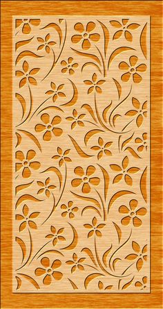 Stencil Patterns, Stencil Designs, Wall Art Designs, Pattern Art, Wood Panel Walls, Panel Wall Art, Wood Wall, Deco Cuir, Jaali Design