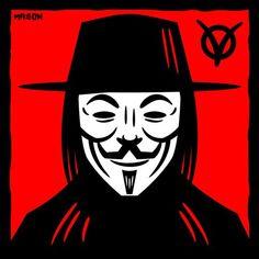 V for Vendetta drawing by James Mason Art V For Vendetta, Graphic Design Studios, Horror, Nerd, Geek Stuff, Darth Vader, Stickers, Superhero, Halloween