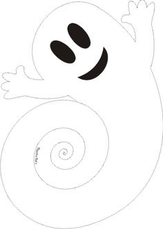 Halloween Maske videos Fantasma d - hallowenmask Moldes Halloween, Adornos Halloween, Halloween Crafts For Toddlers, Easy Halloween Decorations, Halloween Tags, Theme Halloween, Halloween Movies, Outdoor Halloween, Halloween 2019