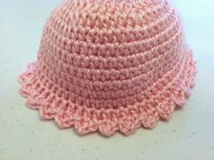 Pink Baby Hat / Newborn Baby Beanie / Light Pink by tinybabylady, $7.50