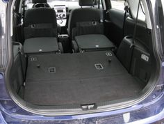 2006 Mazda 5 - second and third-row seats folded down