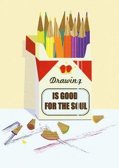 wish this said art instead of drawing  {True Believer}