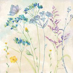 RB9100CC<br>Wildflower Garden II <br> 18x18