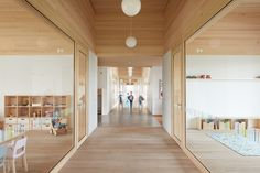 Gallery of Kindergarden at the Ducklake / Bernardo Bader Architekten - 5