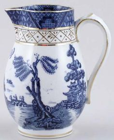 Booths Real Old Willow Creamer Jug c1920s