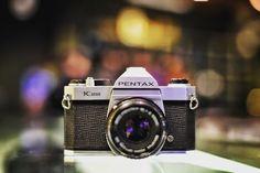 Classic! Pentax K1000 35mm camera #film #analog #filmisnotdead #filmnotpixels #vintage #camera #classic #bokeh #austin #atx #mediumformat #120mm #35mm #kodak #portra #fuji #ilford