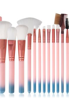 face makeup with cylinder pink handle beauty tools Makeup Brushes, Face Makeup, Handle, Tools, Pink, Beauty, Rose, Makeup Application, Hot Pink