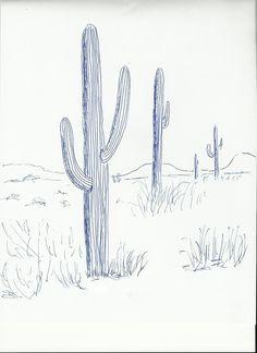 Cactus | Art class ideas
