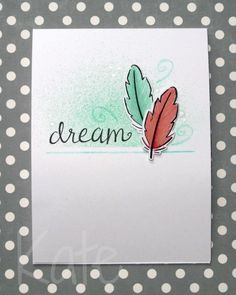 Lawn Fawn Dream Stamp Die cut Colour