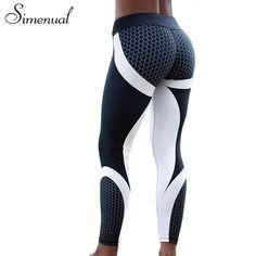 Push-up Leggings for Women Patchwork Bodybuilding Slim Legging //Price: $13.24 & FREE Shipping //     #hashtag4