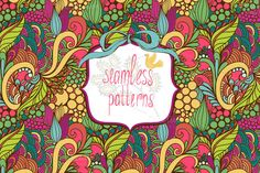 Check out Magic patterns by Marusha_Belle on Creative Market