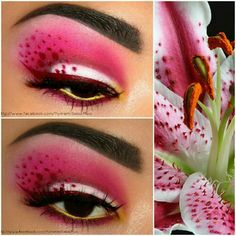 Gorgeous lily make up