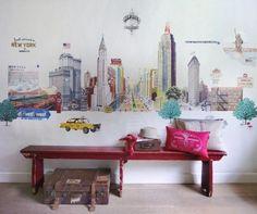 Afbeeldingsresultaat voor new york wallpaper for kids