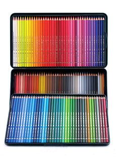 Faber-Castell Polychromos Colored Pencil Set, 120 Assorted Colors