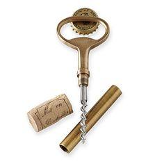 Classic Bottle Opener and Corkscrew #makeyourmark