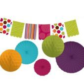 Bright Paper Decorating Kit - Party City