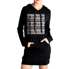 Deadpool Taco Christmas Women Long Sleeve Pullover Pocket Sweatshirt Hoodie *** To view further for this item, visit the image link.