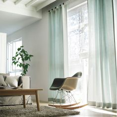 Blackout Light Blue Curtains— where can i get these! ?