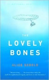 """""""The Lovely Bones"""" by Alice Sebold. The Lovely Bones is a luminous and astonishing novel about life and death, forgiveness and vengeance, memory and forgetting–but, above all, about finding light in the darkest of places. Book Club Books, Book Lists, The Book, I Love Books, Books To Read, My Books, Music Books, Bons Romans, Bone Books"""