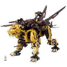 Highend Master Model Saber Tiger - Gold Version ** To view further for this item, visit the image link. (This is an affiliate link) Fantasy Fiction, Sci Fi Fantasy, Glitch, Zoids Toys, Crazy Robot, Robot Animal, Shops, Lego Mecha, Robot Concept Art