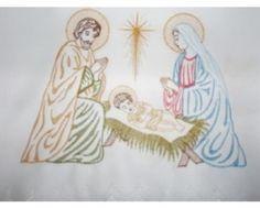 Obrus ołtarzowy na Boże Narodzenie - 445 A