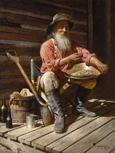 Protagonista en su casa construida bajo su verdadera fortuna. Su felicidad