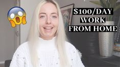 Work from home. Jobs you can do online and have high amount of income with them. Work From Home Tips, Day Work, You Can Do, Entrepreneur, Videos, Youtube, Youtubers, Video Clip