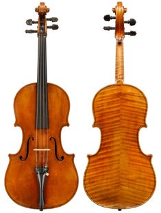 Sacconi viola from 1929, made a few years before he left Rome for New York to work for Emil Herrmann. Sacconi's copies are some of the finest ever produced – yet his work is still clearly recognisable as his own