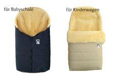 Heitmann Lammfellfußsack für Babyschale und Kinderwagen
