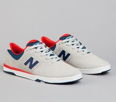 New Balance Numeric 479-Light Grey-Estate Blue