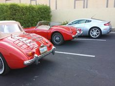 MG &  Aston Martin