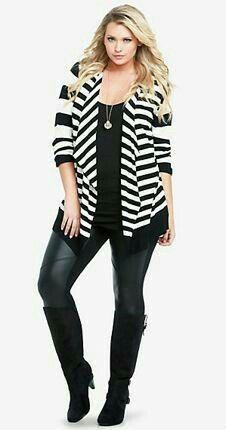 TYSIE  -  Love this outfit cut/style. Loose but fitted overshirt and skinnies with boots.