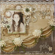 Such a Pretty Mess: Fabric Inspiration Layout {Maja Design Collections}