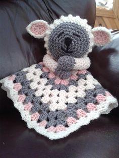 Ravelry: Lamb Lovey Security Blanket Pattern by Jo-Anne Wilkes-Baker  $4.50