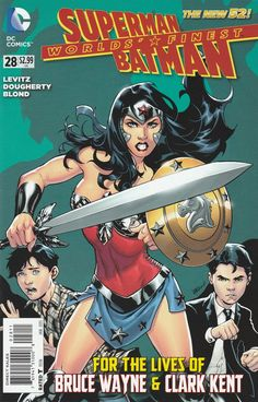 Worlds' Finest # 28 DC Comics The New 52! Vol 3