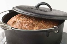 This is a wonderful rye bread recipe- I leave out the onions. Very chewy artisa… This is a wonderful rye bread recipe- I leave out the onions. Very chewy artisan style rye with no seeds. Rye Bread Recipes, Knead Bread Recipe, Dutch Oven Recipes, No Knead Bread, Bread Machine Recipes, Flour Recipes, Cooking Recipes, Sourdough Bread, Dutch Oven Rye Bread Recipe