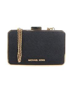 MICHAEL MICHAEL KORS Handbag. #michaelmichaelkors #bags #shoulder bags #clutch #metallic #leather #hand bags #