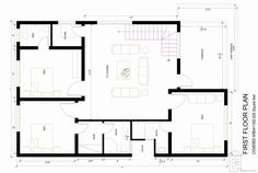 House Plan for 15 Feet by 50 Feet plot (Plot Size 83 ...