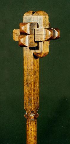 Canne dont le pommeau est un casse-tête à démonter et remonter -http://danieltraube.skynetblogs.be/