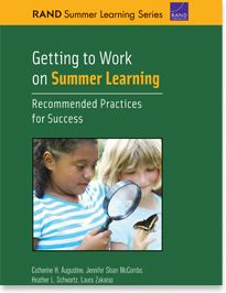 Getting to Work on Summer Learning Publication by the Wallace Foundation
