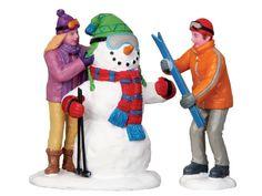 Lemax Skier Snowman