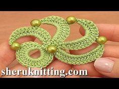 Irish Crochet Motif Tutorial 20