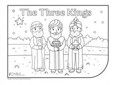 three kings in white and black - Google Search